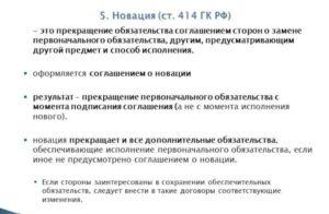 Соглашение о новации обязательств по договору товарного займа обязательствами по купле-продаже товаров