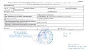 Выписка из регистрационной книги о правах, ограничениях (обременениях) прав на земельный участок