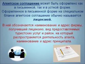Международное агентское соглашение