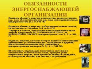 Рабочая инструкция контролеру энергоснабжающей организации (1-й разряд)