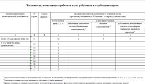 Отчет по труду (Форма 12-т (месячная))