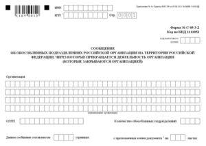 Сведения об обособленных подразделениях (филиалах, представительствах) субъекта Единого реестра государственного имущества (Форма)