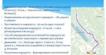 Паспорт маршрута автомобильных перевозок пассажиров в регулярном сообщении